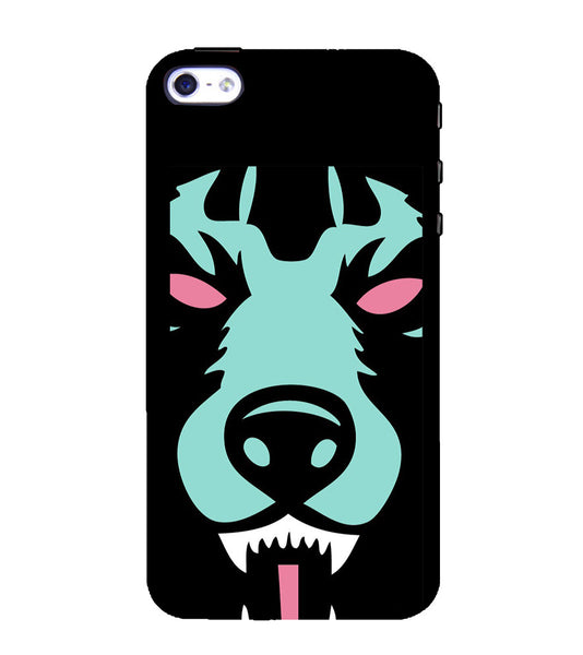 EPICCASE Beast mode  Back Case Cover for Apple iPhone 4