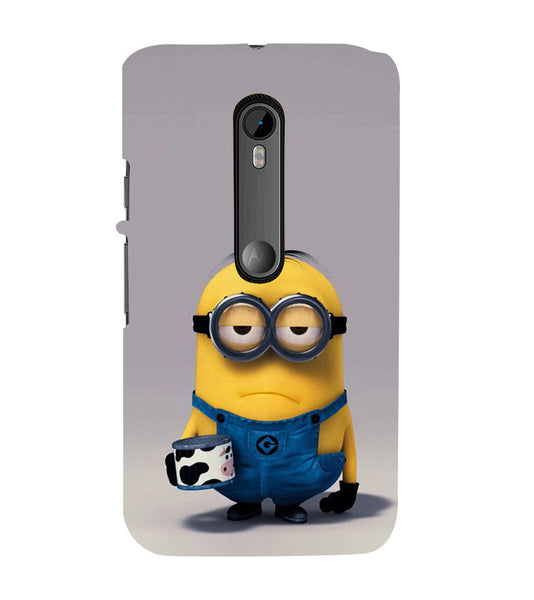 EPICCASE Grumpy Me case Back Case Cover for Moto X Play