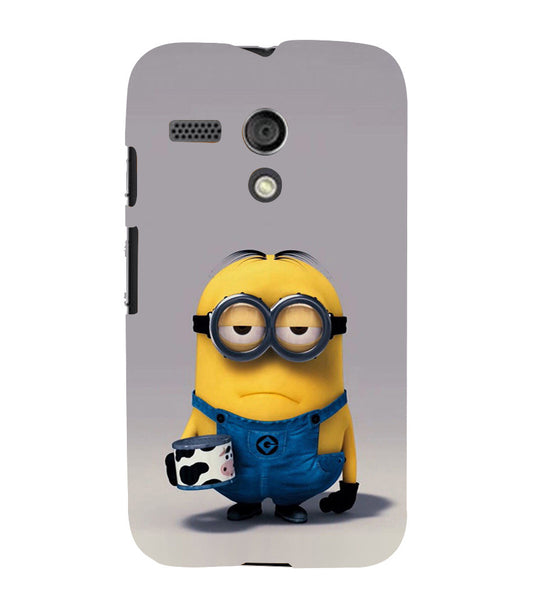 EPICCASE Grumpy Me case Back Case Cover for Moto G
