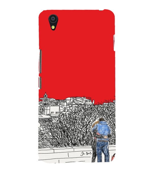 EPICCASE Artistic couple Back Case Cover for Oneplus X