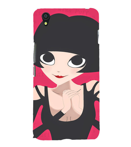 EPICCASE Hot girl power Back Case Cover for Oneplus X
