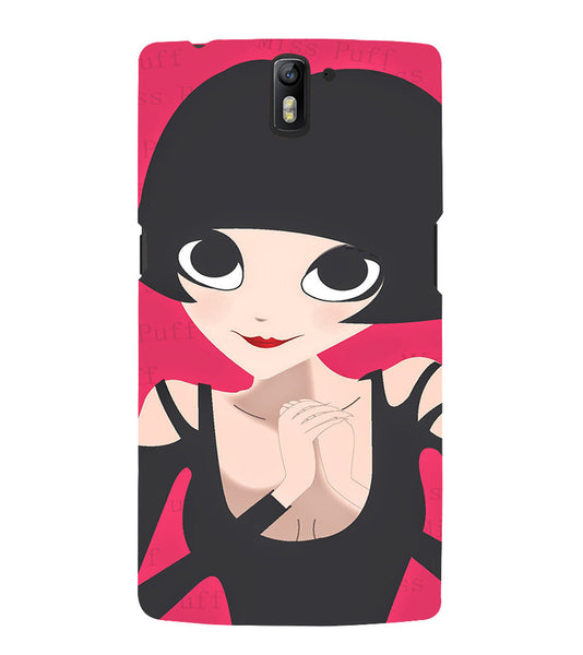 EPICCASE Hot girl power Back Case Cover for Oneplus One