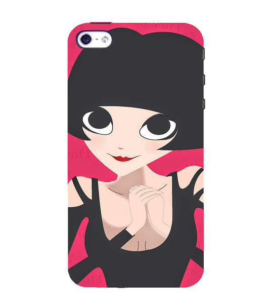 EPICCASE Hot girl power Back Case Cover for Apple iPhone 5/5s