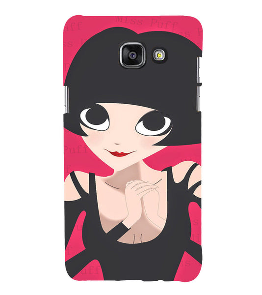EPICCASE Hot girl power Back Case Cover for Samsung A7 2016