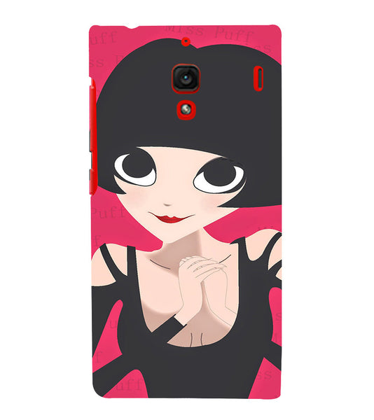 EPICCASE Hot girl power Back Case Cover for Xiaomi Redmi 1s