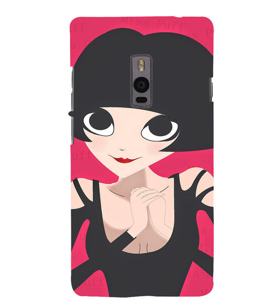 EPICCASE Hot girl power Back Case Cover for Oneplus Two