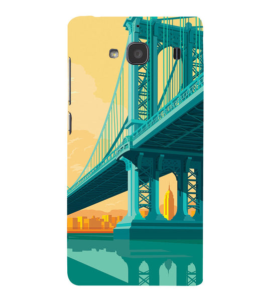 EPICCASE London bridge Back Case Cover for Xiaomi Redmi 2s