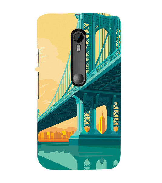 EPICCASE London bridge Back Case Cover for Moto X Force