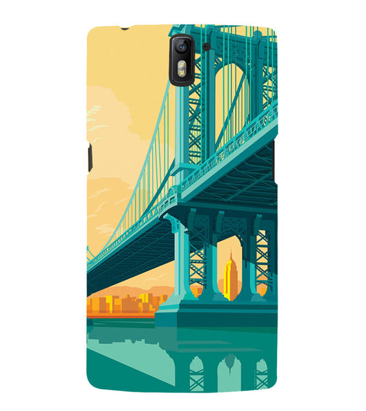 EPICCASE London bridge Back Case Cover for Oneplus One