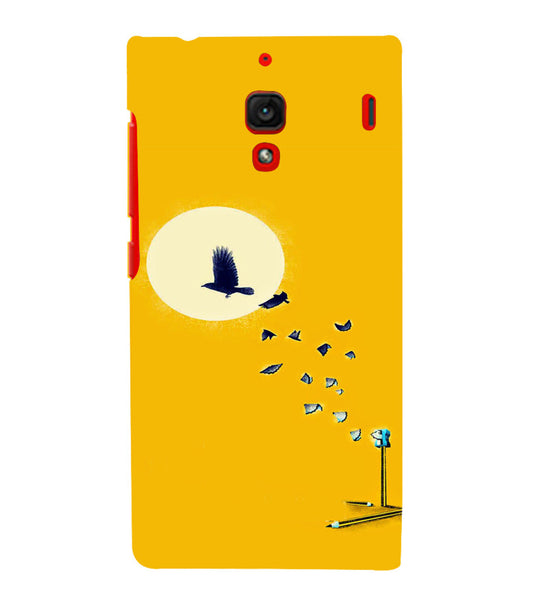EPICCASE Birds freedom Back Case Cover for Xiaomi Redmi 1s