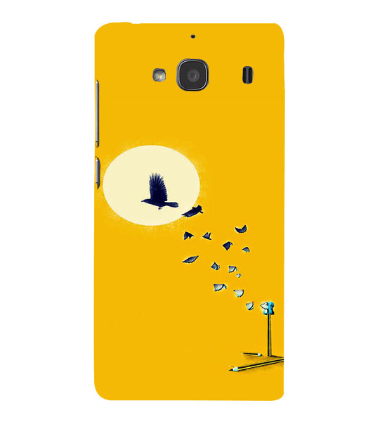EPICCASE Birds freedom Back Case Cover for Xiaomi Redmi 2s