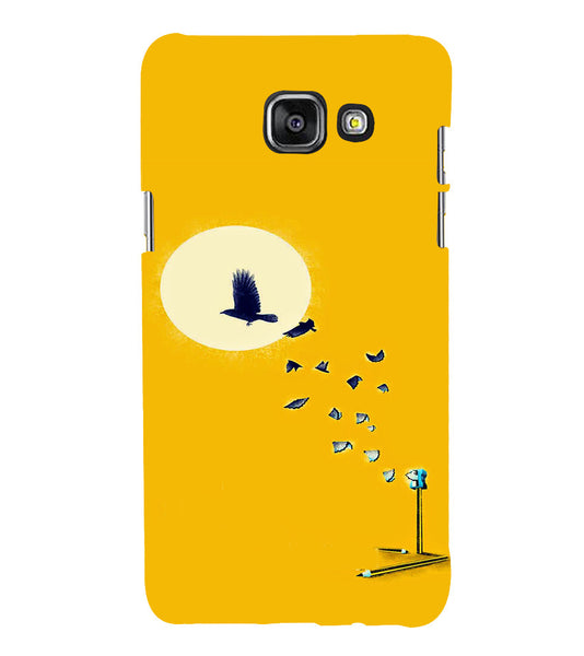 EPICCASE Birds freedom Back Case Cover for Samsung A7 2016