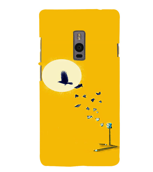 EPICCASE Birds freedom Back Case Cover for Oneplus Two