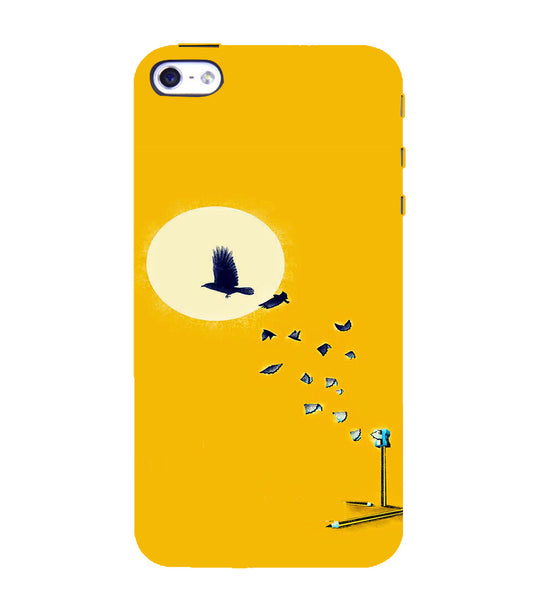 EPICCASE Birds freedom Back Case Cover for Apple iPhone 4