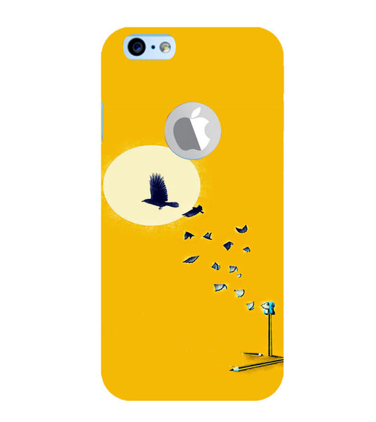 EPICCASE Birds freedom Back Case Cover for Apple iPhone 6/6s