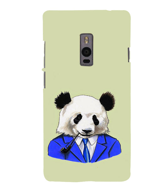 EPICCASE Panda in a suit Back Case Cover for Oneplus Two