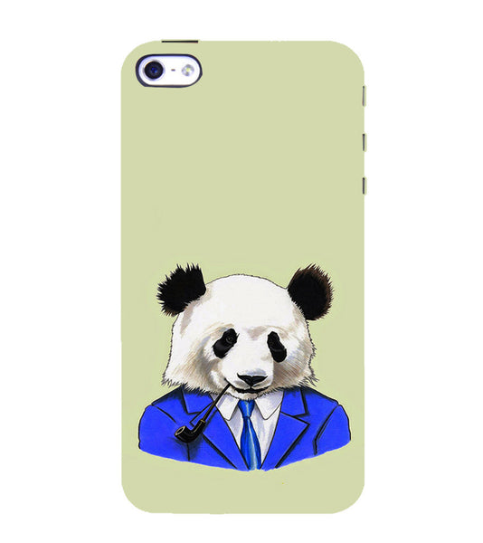 EPICCASE Panda in a suit Back Case Cover for Apple iPhone 5/5s