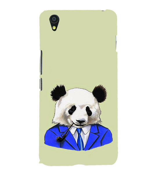 EPICCASE Panda in a suit Back Case Cover for Oneplus X