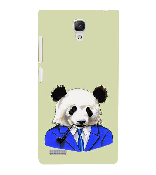 EPICCASE Panda in a suit Back Case Cover for Xiaomi Redmi Note