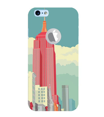 EPICCASE Abstract newyork Back Case Cover for Apple iPhone 6plus/6splus
