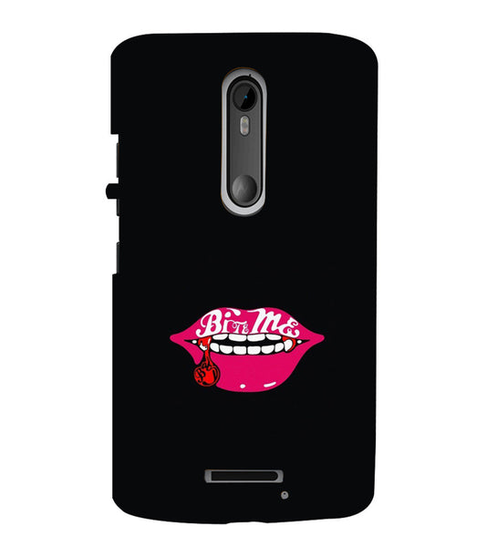 EPICCASE Sexy Lips Back Case Cover for Moto X3