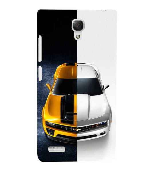 EPICCASE Chev bumblebee Back Case Cover for Xiaomi Redmi Note prime