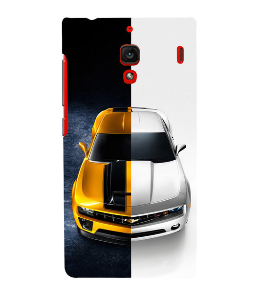 EPICCASE Chev bumblebee Back Case Cover for Xiaomi Redmi 1s