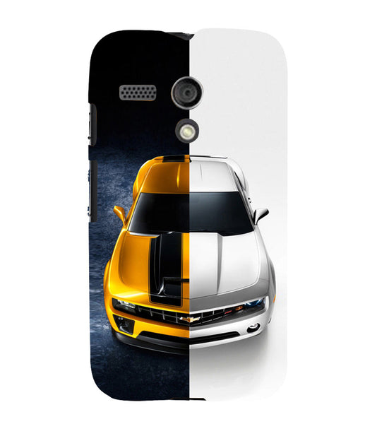 EPICCASE Chev bumblebee Back Case Cover for Moto G