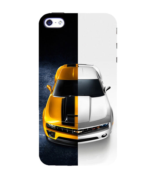 EPICCASE Chev bumblebee Back Case Cover for Apple iPhone 4