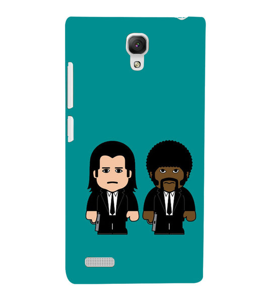 EPICCASE Pulp fictions Back Case Cover for Xiaomi Redmi Note