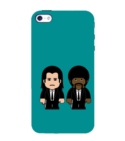 EPICCASE Pulp fictions Back Case Cover for Apple iPhone 4