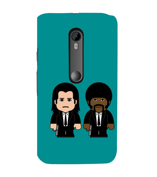 EPICCASE Pulp fictions Back Case Cover for Moto X Play