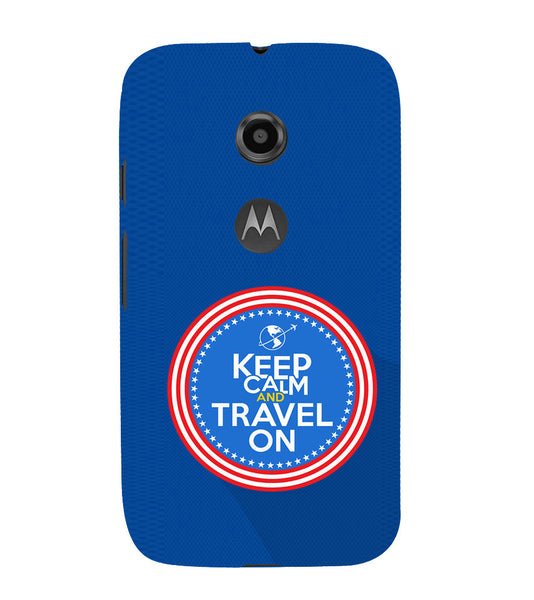 EPICCASE Wanderlust travel Back Case Cover for Moto E2
