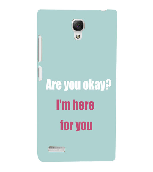 EPICCASE Care case Back Case Cover for Xiaomi Redmi Note prime
