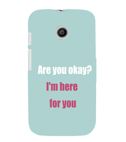 EPICCASE Care case Back Case Cover for Moto E