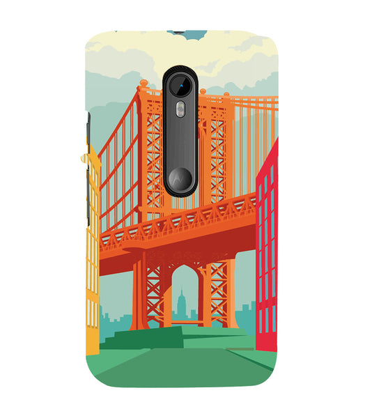 EPICCASE London love Back Case Cover for Moto X Play