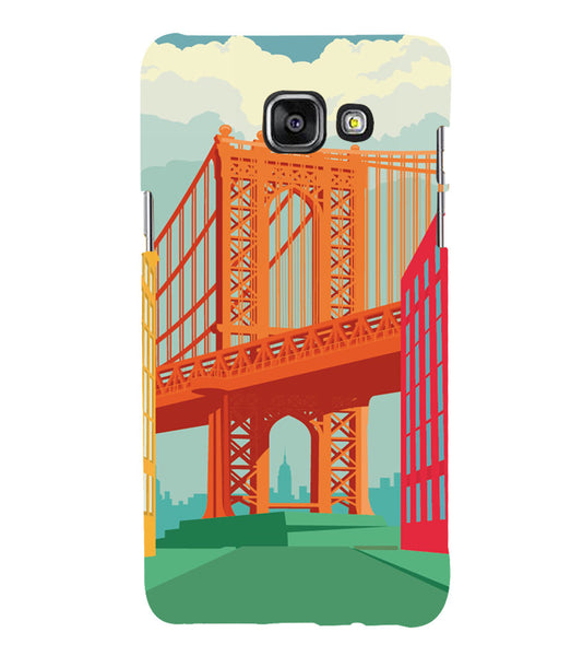 EPICCASE London love Back Case Cover for Samsung A7 2016
