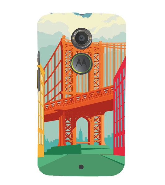 EPICCASE London love Back Case Cover for Moto X2