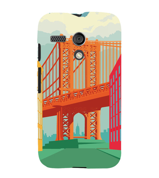 EPICCASE London love Back Case Cover for Moto G