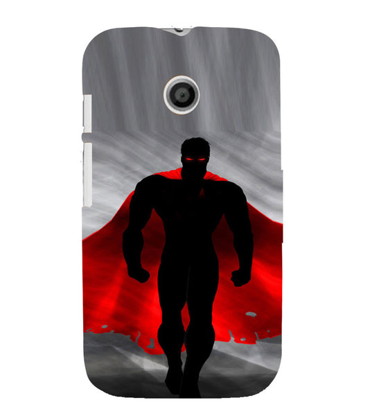 EPICCASE Red fury Back Case Cover for Moto E