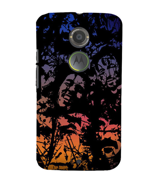 EPICCASE Celebrity Graffiti Back Case Cover for Moto X2