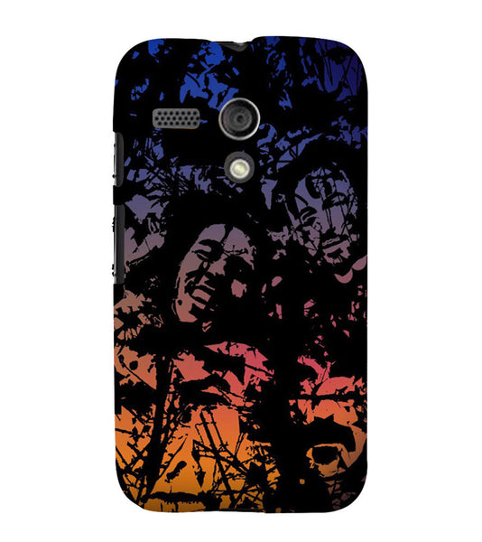EPICCASE Celebrity Graffiti Back Case Cover for Moto G