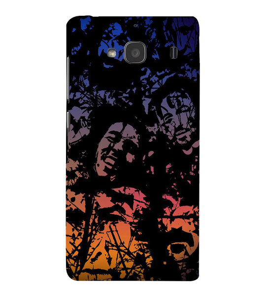 EPICCASE Celebrity Graffiti Back Case Cover for Xiaomi Redmi 2s