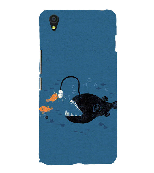 EPICCASE Eco-friendly fish Back Case Cover for Oneplus X