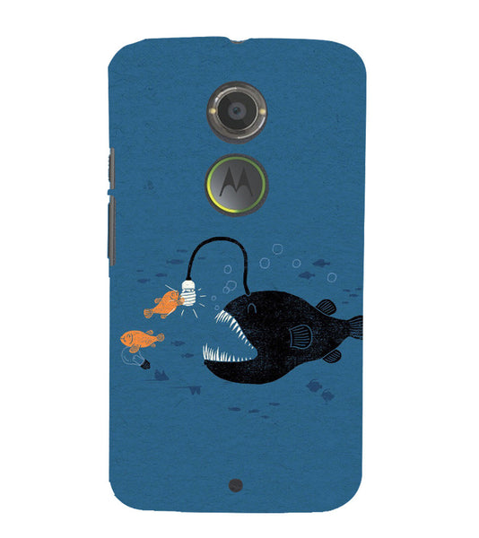 EPICCASE Eco-friendly fish Back Case Cover for Moto X2