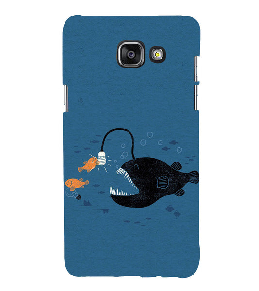 EPICCASE Eco-friendly fish Back Case Cover for Samsung A7 2016