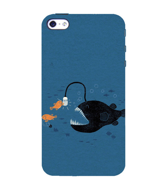 EPICCASE Eco-friendly fish Back Case Cover for Apple iPhone 5/5s