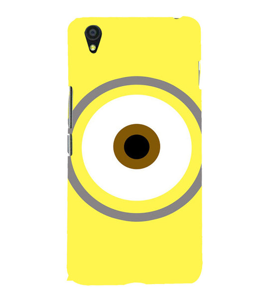 EPICCASE Eye of the minion Back Case Cover for Oneplus X