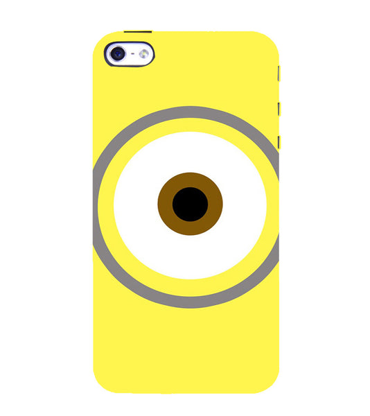 EPICCASE Eye of the minion Back Case Cover for Apple iPhone 4