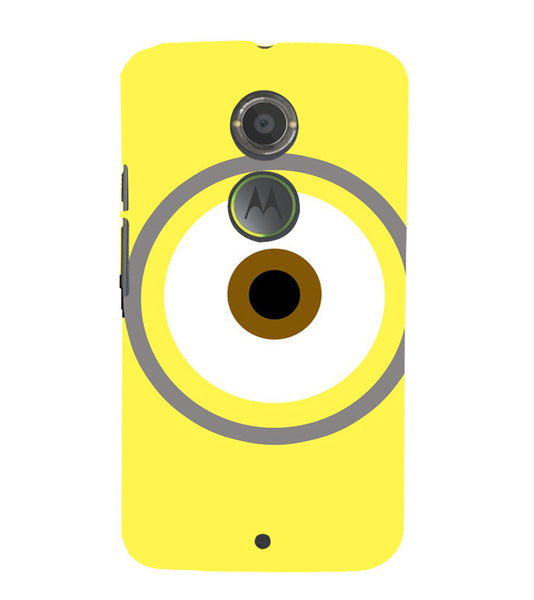 EPICCASE Eye of the minion Back Case Cover for Moto X2